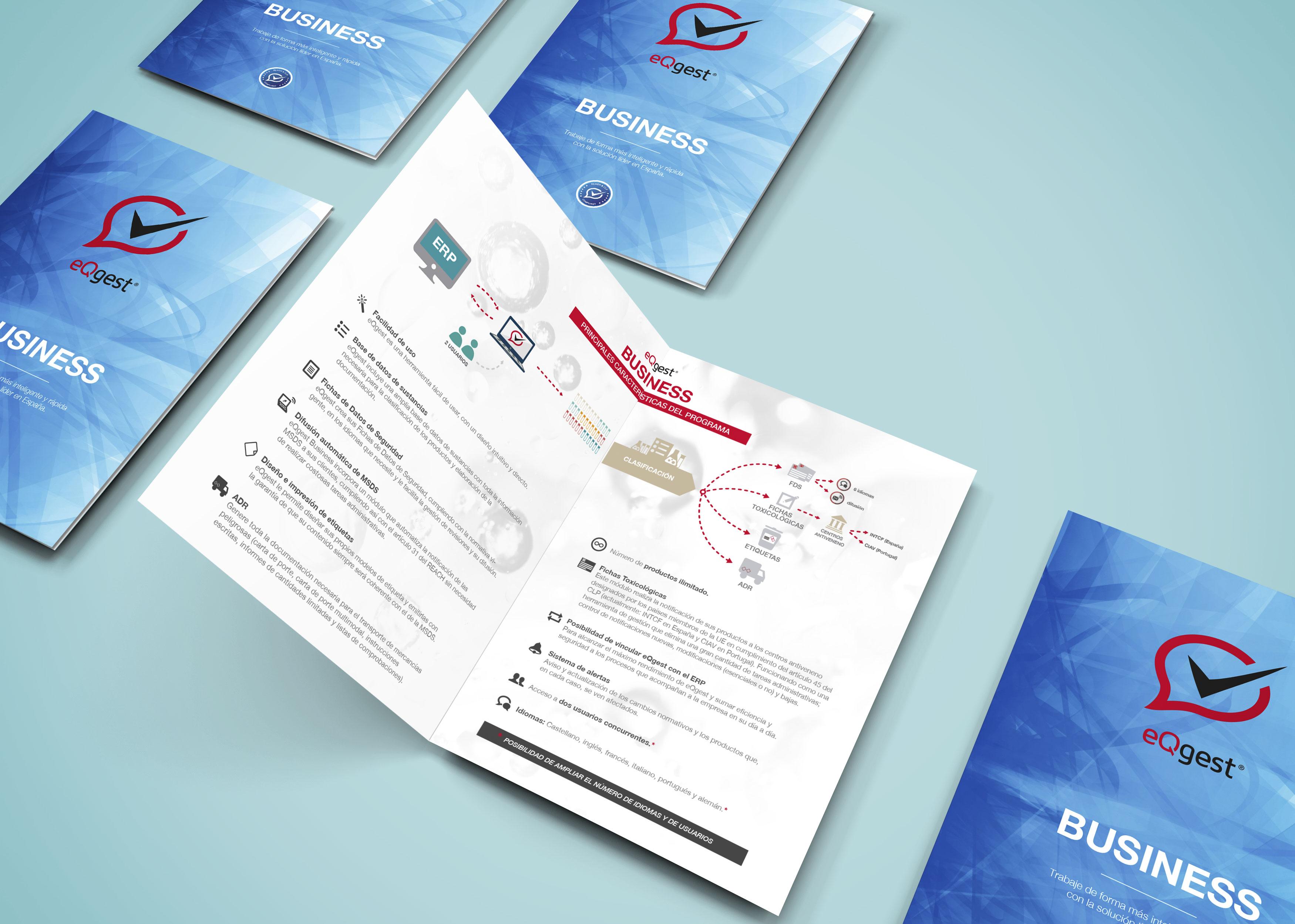 Diseño de dossieres comerciales para el software eQgest de la empresa Cimkey